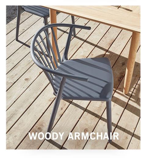 WOODY ARMCHAIR
